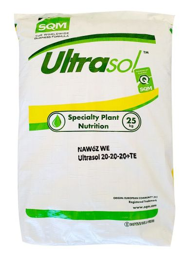 Nawóz NPK 20-20-20 +mikro Ultrasol 25kg